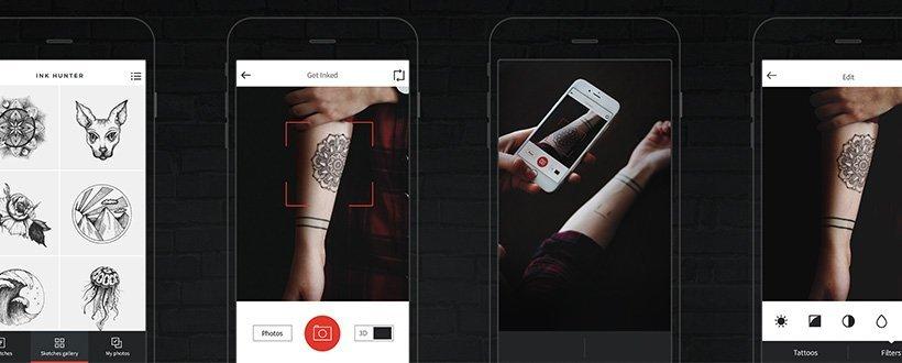 App permite testar tatuagem antes de encarar as agulhas