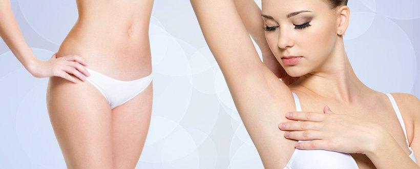 Como remover manchas escuras na virilha e axilas