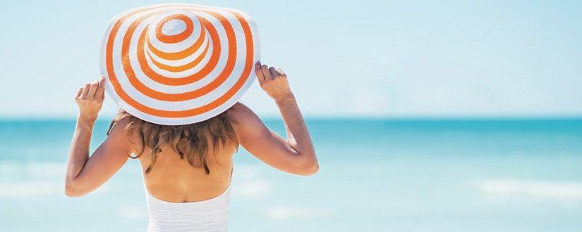 Como manter a pele hidratada no verão