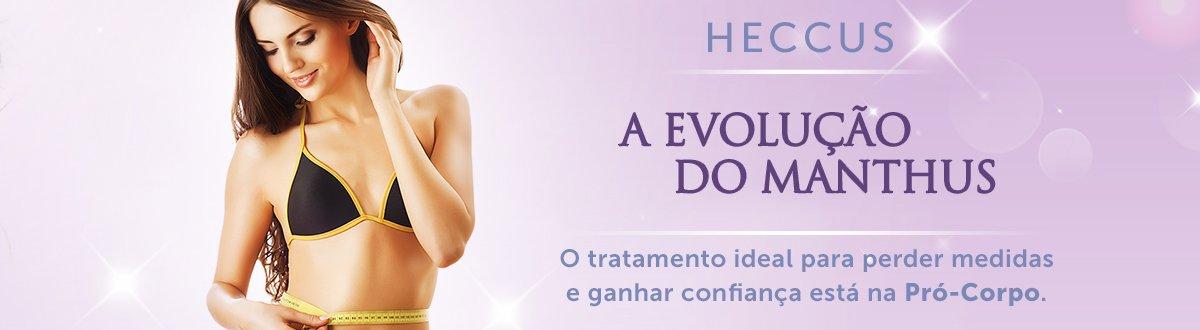 Heccus: Tratamento estético muito eficaz contra gordura localizada e celulite